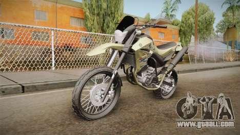 Yamaha XT660 for GTA San Andreas