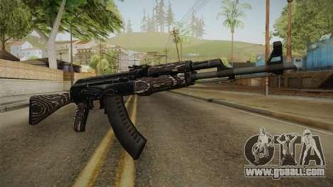 CS: GO AK-47 Black Laminate Skin for GTA San Andreas
