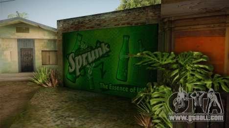 New CJ House Garage for GTA San Andreas third screenshot