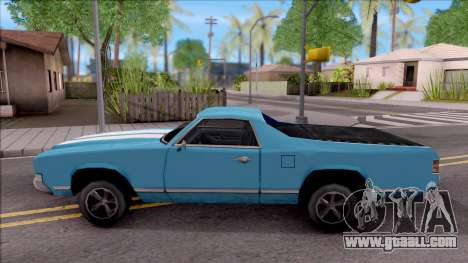 Sabre La Destino Turbo for GTA San Andreas left view