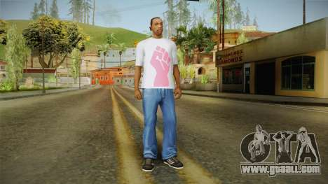 GTA 5 Special T-Shirt v19 for GTA San Andreas third screenshot