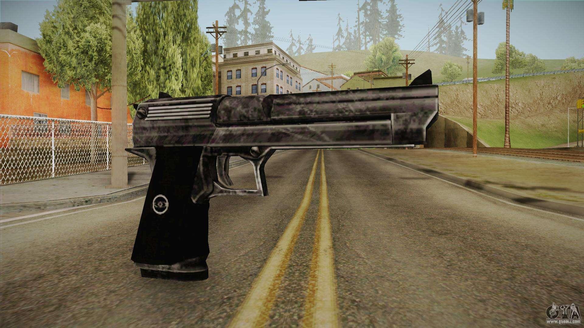 Silent Hill 2 - Pistol 1 for GTA San Andreas