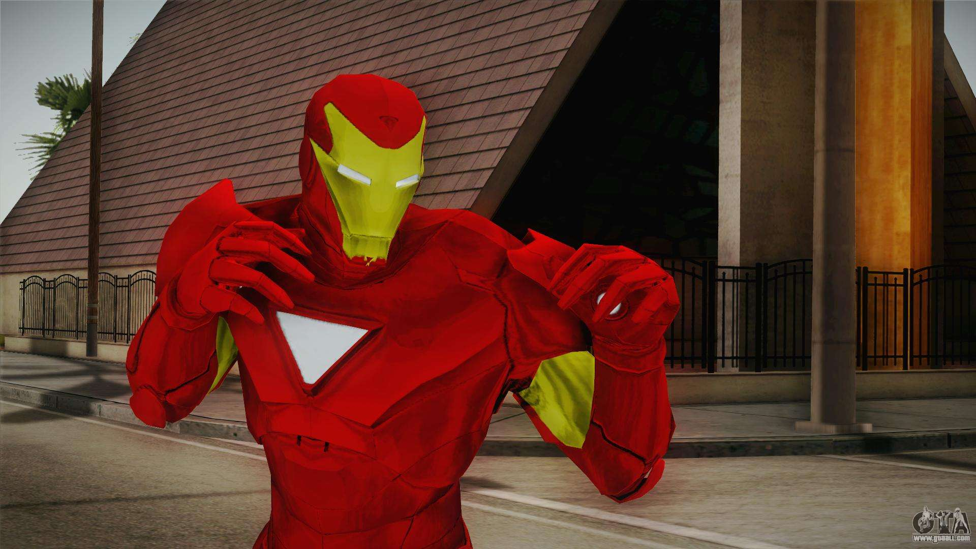 DC MARVEL Ultimate Alliance by crow for GTA San Andreas