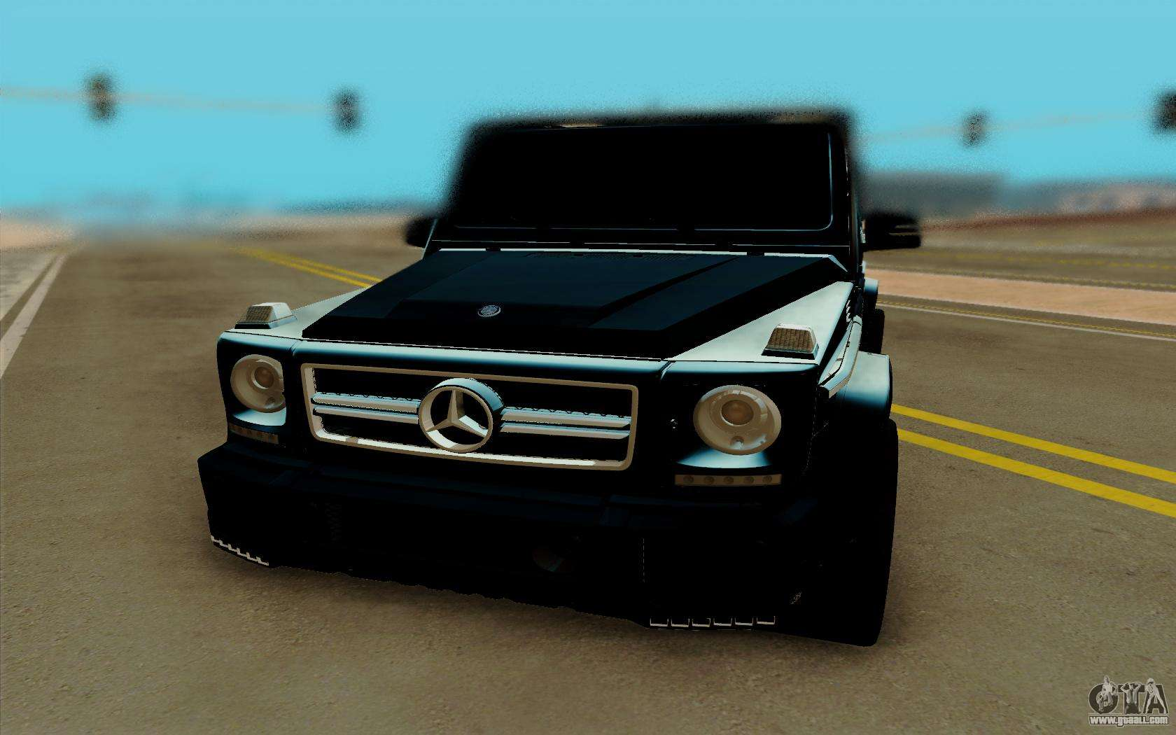 Mercedes benz g63 brabus for gta san andreas for Mercedes benz games