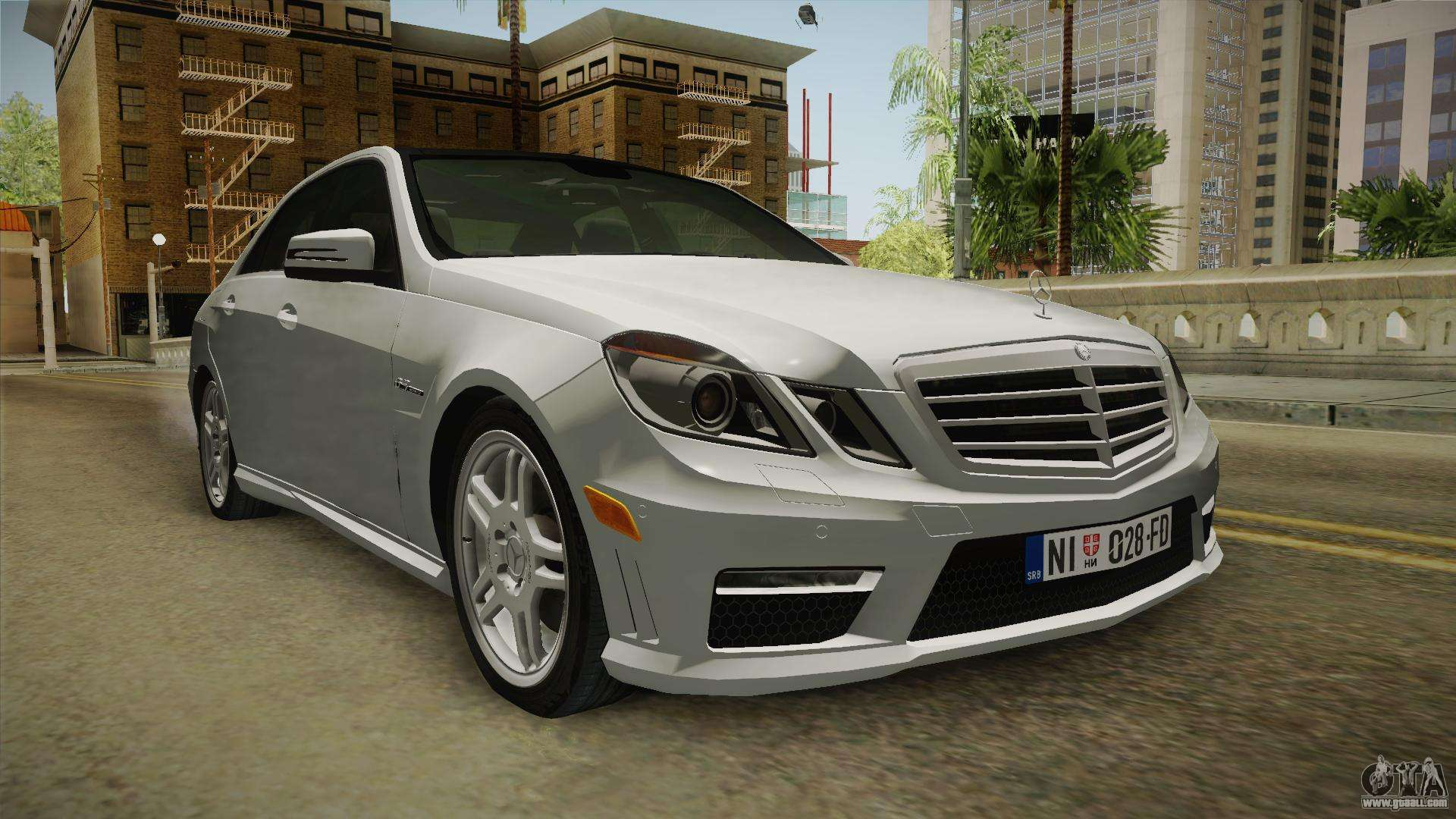 Mercedes benz e63 amg for gta san andreas for Mercedes benz e 63 amg