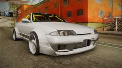 Nissan Skyline R32 Cabrio Drift Rocket Bunny v1 for GTA San Andreas