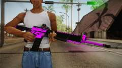 Purple M4A1 for GTA San Andreas