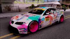 BMW M3 GT2 Miku GSR for GTA San Andreas
