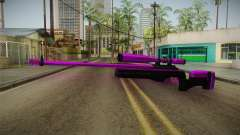 Purple Sniper Rifle for GTA San Andreas