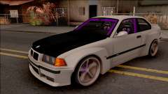 BMW M3 E36 Drift Rocket Bunny v4 for GTA San Andreas