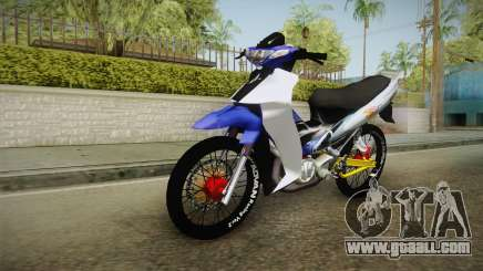 Yamaha 125Z Alloy Black for GTA San Andreas