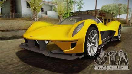 GTA 5 Dewbauchee Vagner for GTA San Andreas