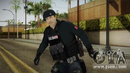 Turkish Police-Rapid Response Unit Member for GTA San Andreas