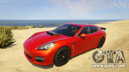Michael Is Better With A Porsche for GTA 5