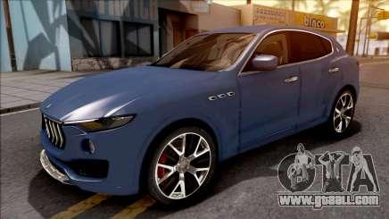 Maserati Levante 2017 for GTA San Andreas