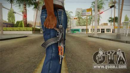 The weapon of Freedom v4 for GTA San Andreas