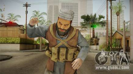 Medal Of Honor 2010 Taliban Skin v8 for GTA San Andreas