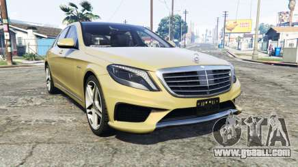 Mercedes-Benz S63 yellow brake caliper [replace] for GTA 5