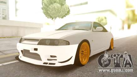 Nissan R33 Drift for GTA San Andreas