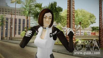 Mass Effect 3 Miranda Short Hair for GTA San Andreas