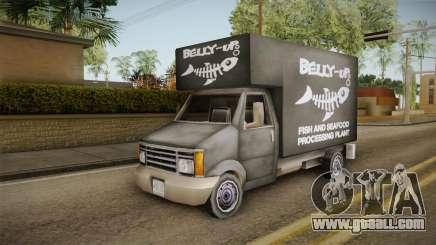 GTA SA DLC - Triad Fish Van for GTA San Andreas