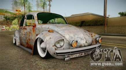 Volkswagen Beetle Rusty for GTA San Andreas