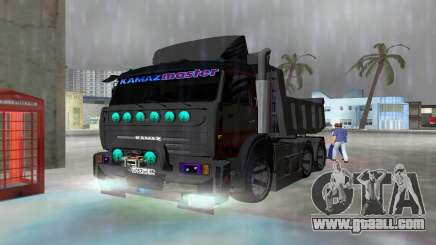 KAMAZ 65115 BLACK NIGHT for GTA Vice City
