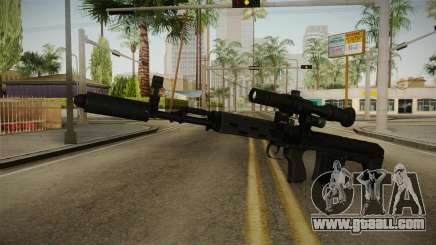 The weapon of Freedom v2 for GTA San Andreas