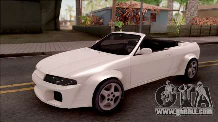 Nissan Skyline R33 Cabrio Tuned for GTA San Andreas