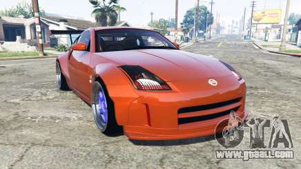 Nissan 350Z (Z33) stardast [add-on] for GTA 5