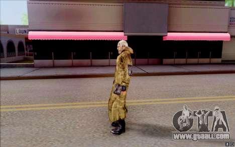 Geek in the cloak of S. T. A. L. K. E. R for GTA San Andreas second screenshot