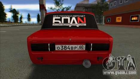 VAZ 2106 Shaherizada 2.2 GVR SA:MP for GTA San Andreas right view
