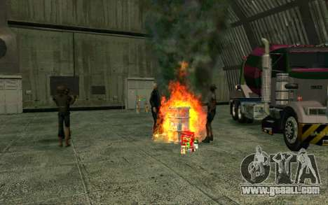 Party homeless for GTA San Andreas forth screenshot