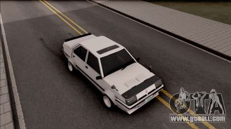 Proton Saga 1985 Widebody ver. for GTA San Andreas right view