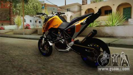 KTM Duke 690 for GTA San Andreas left view