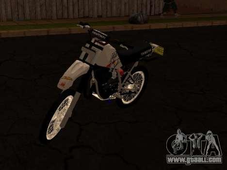 Yamaha DT 175 Stunt for GTA San Andreas