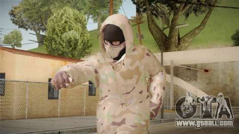 DLC GTA 5 Online Skin 2 for GTA San Andreas