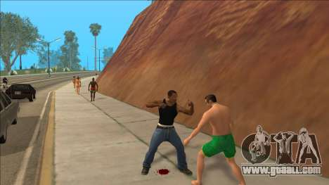 New Animations v4 Rapper Style Update for GTA San Andreas