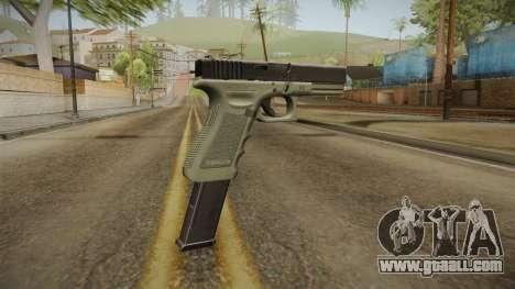 Glock 17 Extended Mag for GTA San Andreas third screenshot