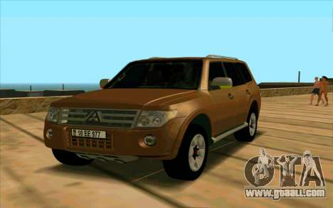 Mitsubishi Pajero Azeri for GTA San Andreas
