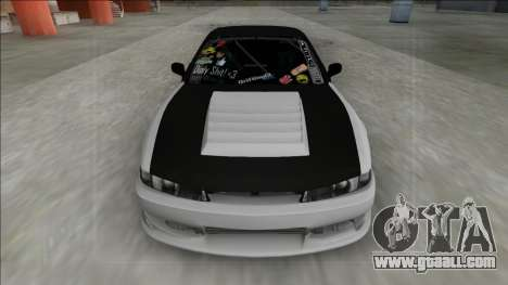 Nissan Silvia S13.4 Drift for GTA San Andreas back left view