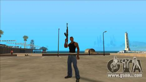 New Animations v4 Rapper Style Update for GTA San Andreas third screenshot