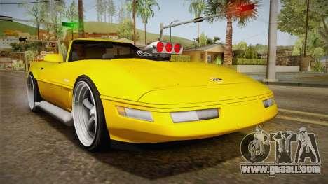 Chevrolet Corvette C4 Cabrio 1996 for GTA San Andreas