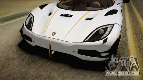Koenigsegg Agera RS v3 for GTA San Andreas side view