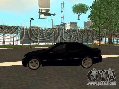Mercedes-Benz C180 Armenian for GTA San Andreas left view
