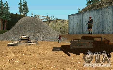 Party homeless for GTA San Andreas fifth screenshot