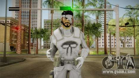 Punisher Dead Winter Skin for GTA San Andreas
