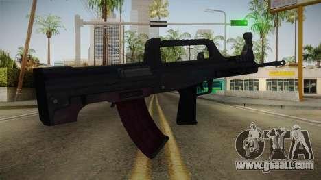 Battlefield 4 - QBZ-95 for GTA San Andreas third screenshot