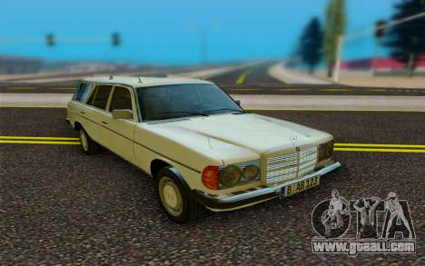 Mercedes-Benz W123 Wagon for GTA San Andreas