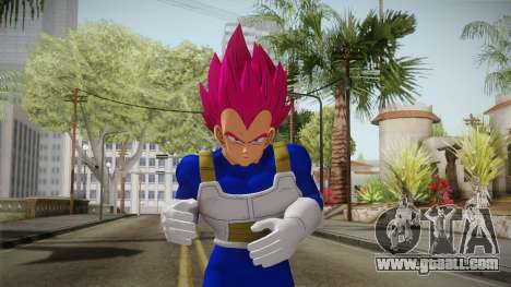 Vegeta Skin HD v1 for GTA San Andreas